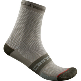 Castelli SuperLeggera T 12 Socks, bark green